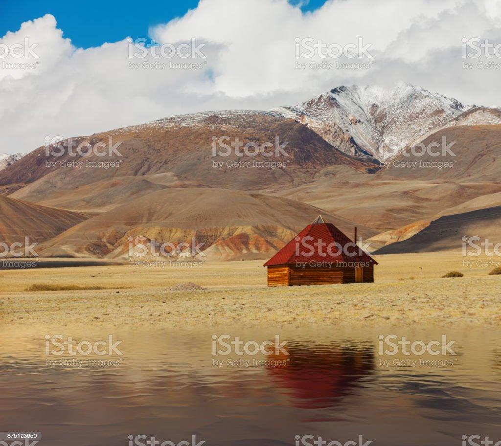 Altai ail en montañas. Siberia Rusia - foto de stock