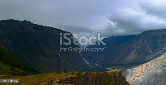 istock Altai mountains. Beautiful highland landscape. Russia. Siberia 691170766
