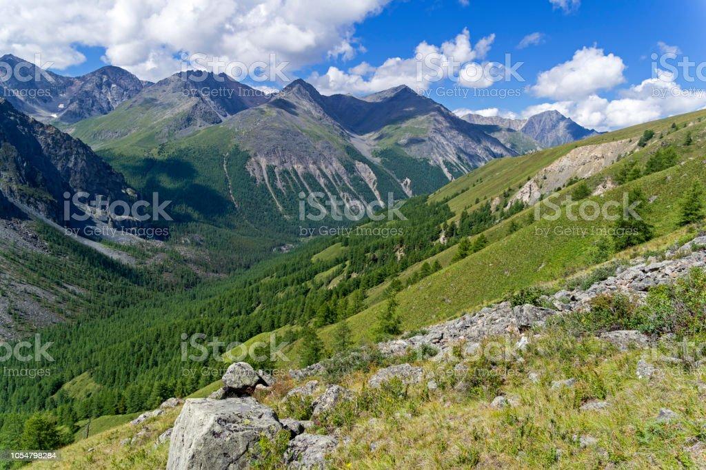 Altai-Gebirge, Russland. – Foto