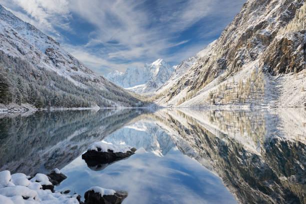 altai mountains, russia, siberia. - сибирь стоковые фото и изображения