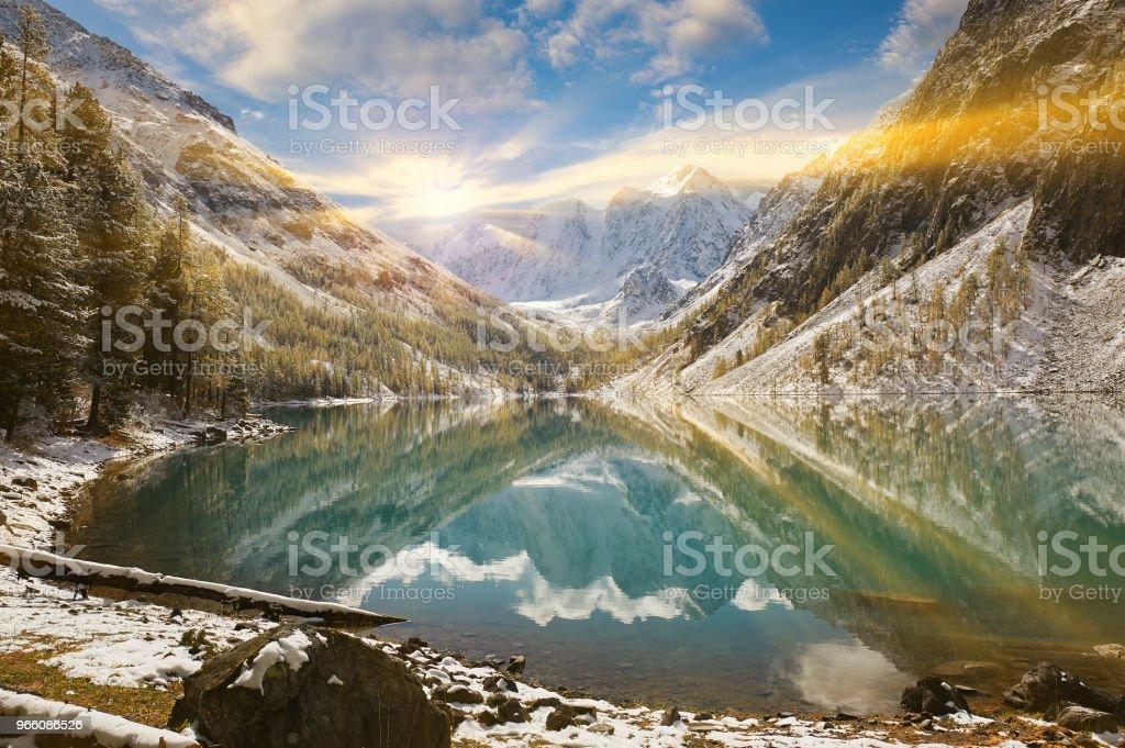 Altaj, Rusland, Siberië. - Royalty-free Altai Nature Reserve Stockfoto