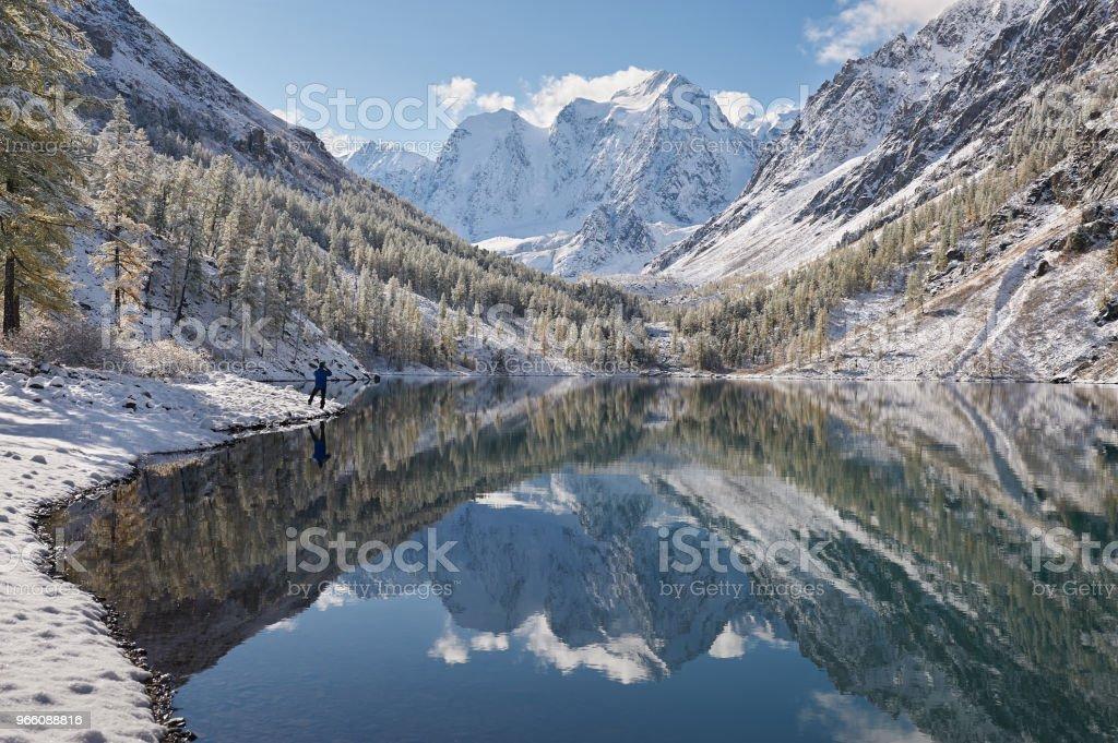 Altai mountains, Russia, Siberia. - Royalty-free Adult Stock Photo