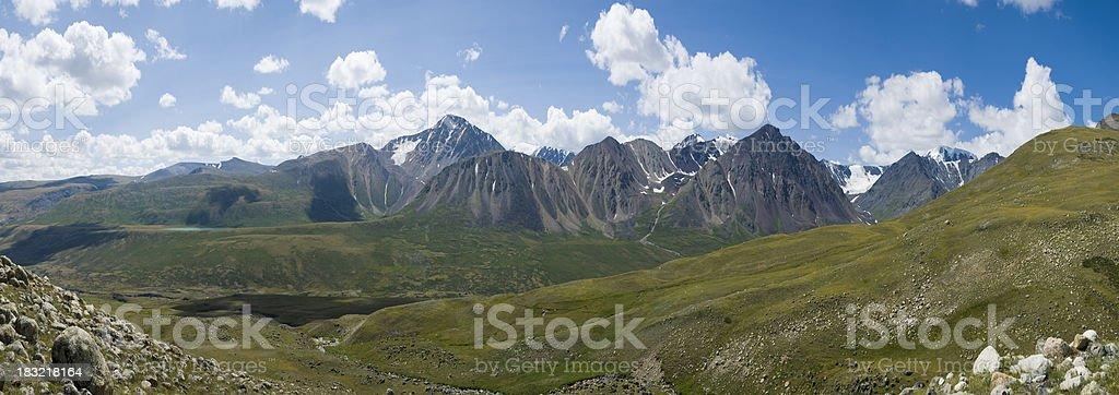 Altai Mountains, Western Mongolia stock photo