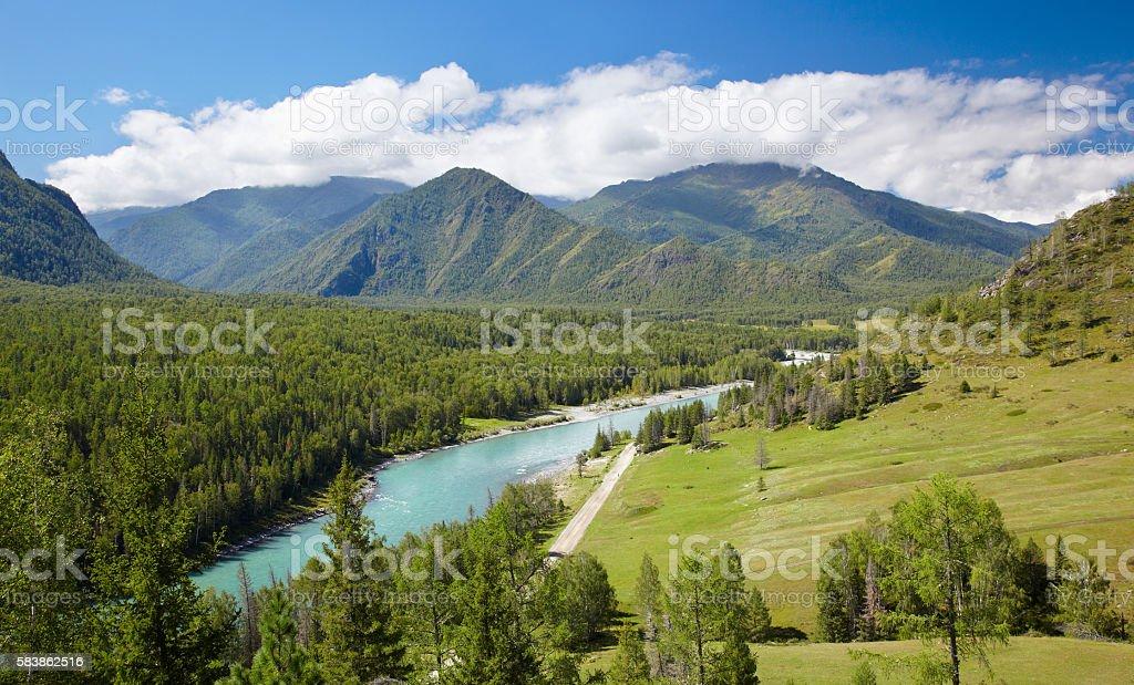 Altai river Katun – Foto
