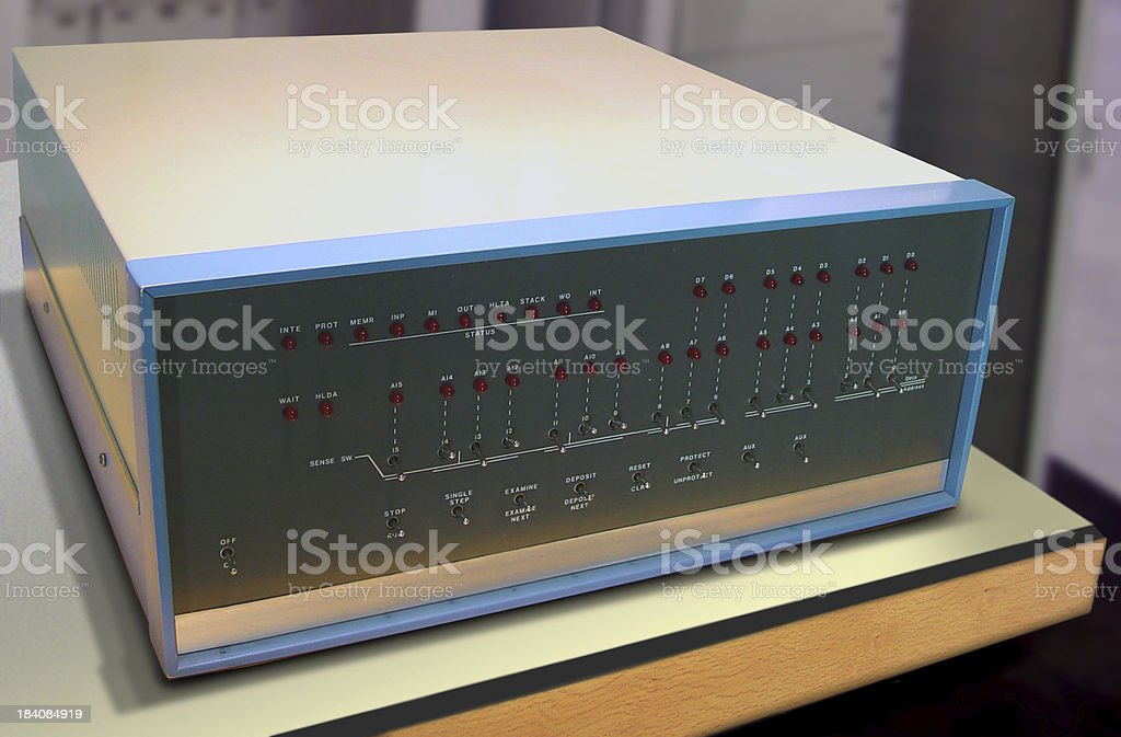 Altair 8800 royalty-free stock photo