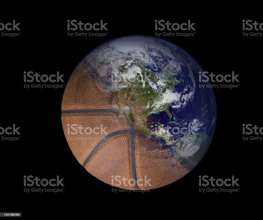 Altantic Basketball stock photo