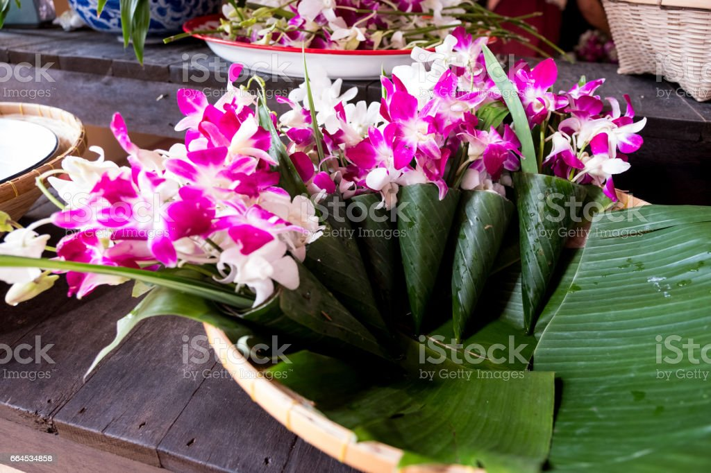 Altar flowers royalty-free stock photo
