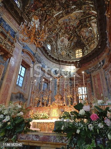 San Giuseppe dei Teatini is a church in the Sicilian city of Palermo. It is located near the Quattro Canti, and is considered one of the most outstanding examples of the Sicilian Baroque in Palermo.