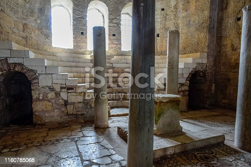 Altar of the Church of St. Nicholas the Baptist miracle worker in Demre, Turkey