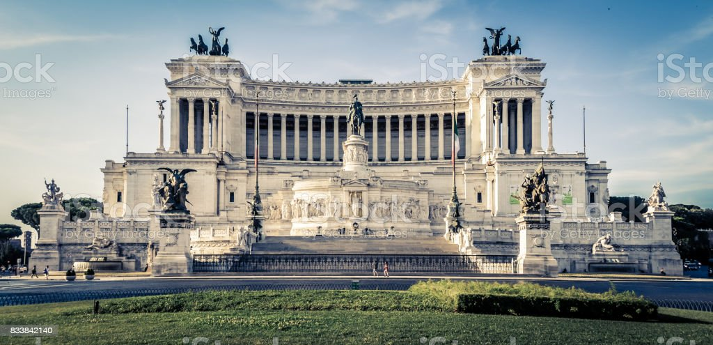 Altar of the Fatherland stock photo