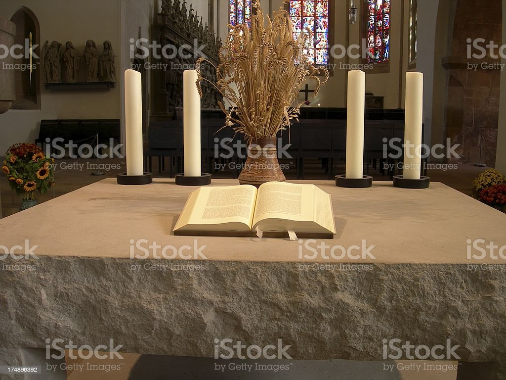 Altar royalty-free stock photo