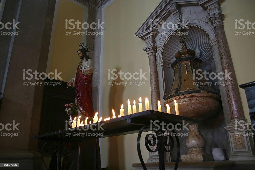 Altar royalty-free stock photo
