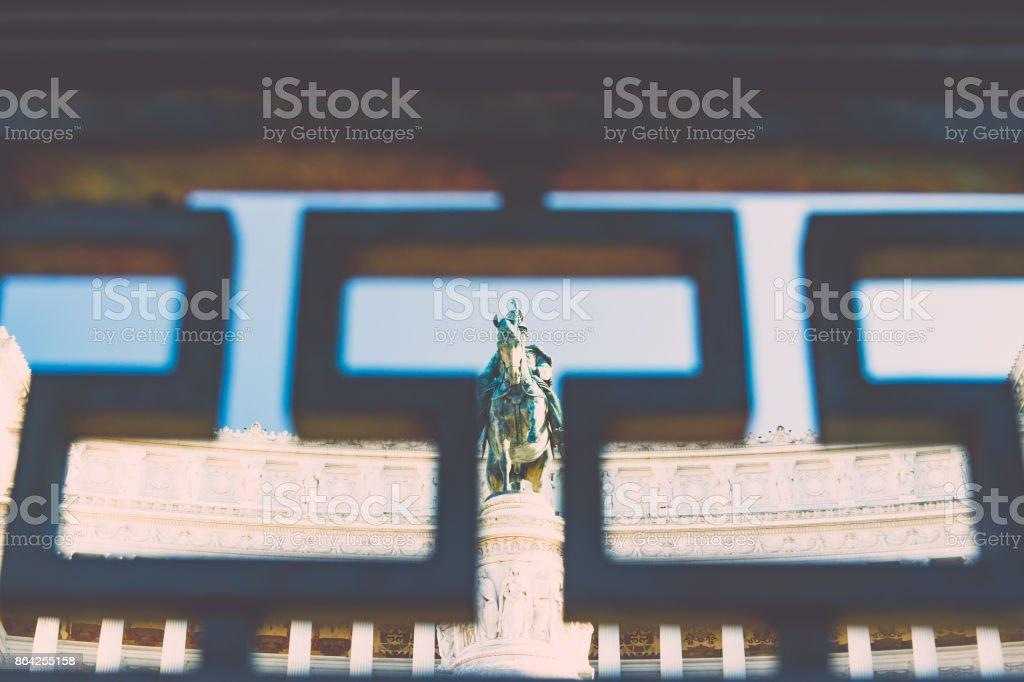 Altare della Patria - Il Vittoriano, Piazza Venezia, Rome, Italy royalty-free stock photo