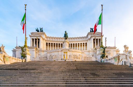 Altare della Patria in Rome, Italy