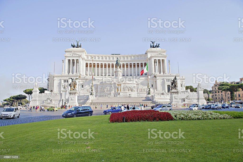 Altare della Patria royalty-free stock photo