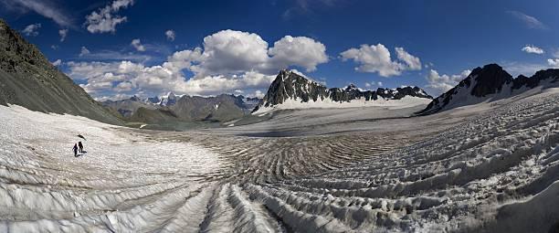 altay motywów. lodowiec nemucky. - państwowy rezerwat przyrody altay zdjęcia i obrazy z banku zdjęć