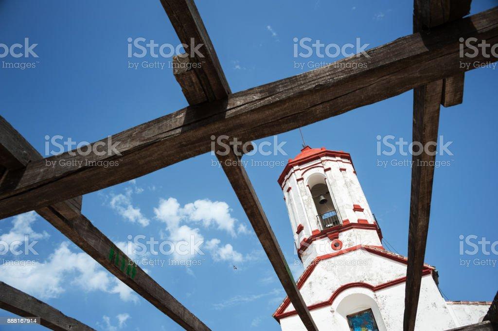 Alte Kirche in Einem Weißen Dorf in Spanien Andalusien – Foto