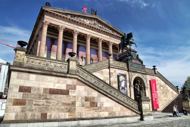 Alte National Gallery Museum stock photo