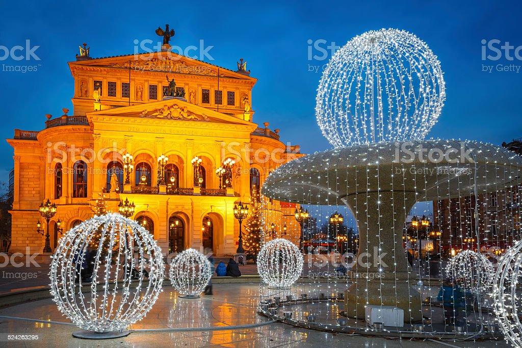Alte Oper in Frankfurt – Foto