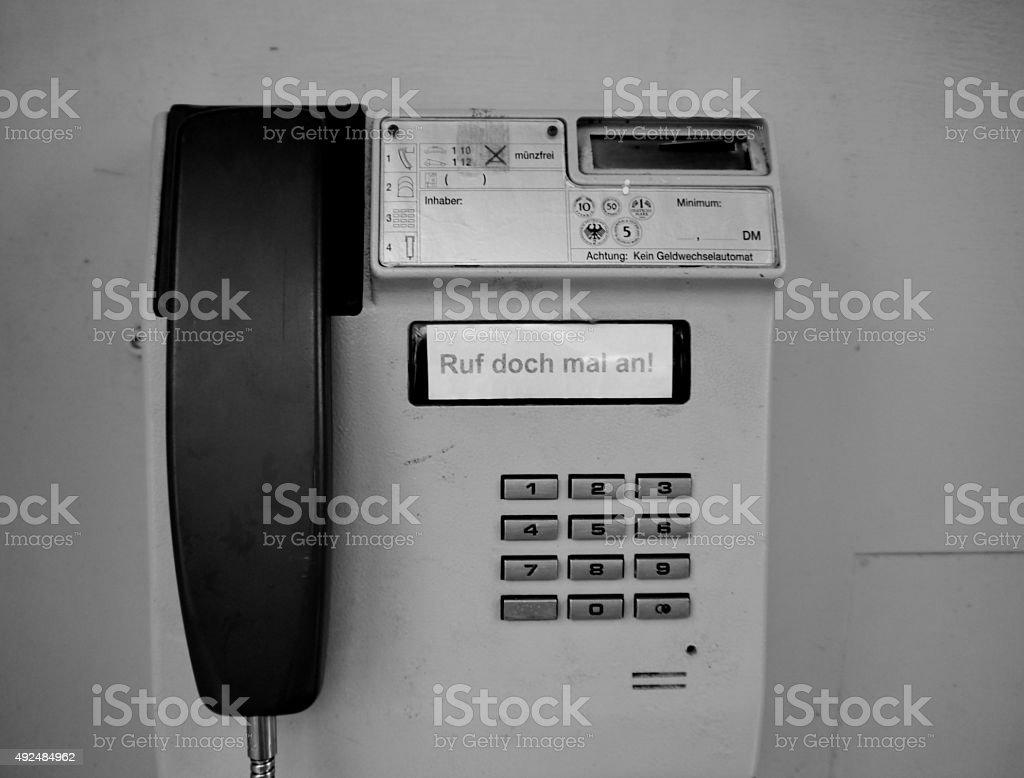Alte telephone directory in Deutschland – Foto