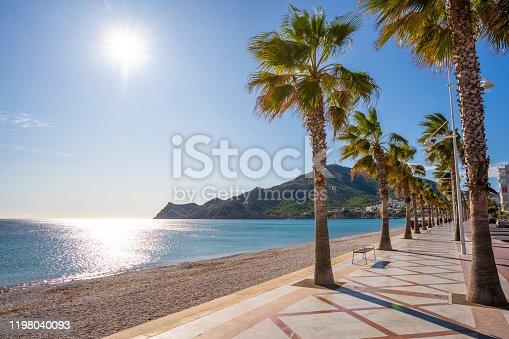 Altea beach in Alicante Mediterranean of Spain