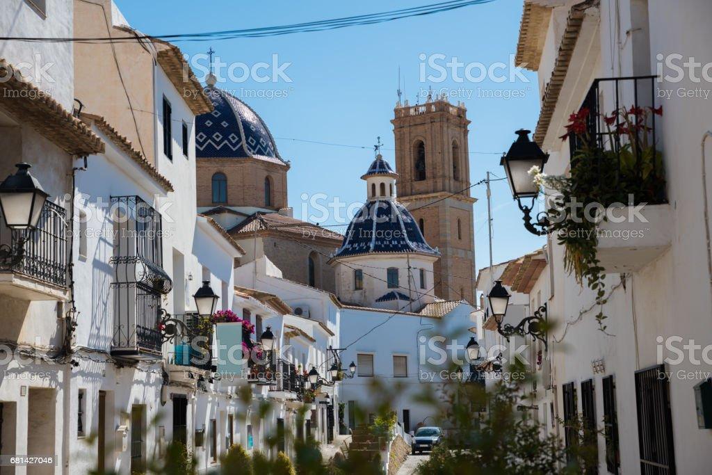Altea, Costa Blanca Spain - foto de stock