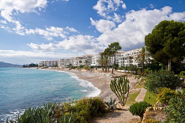 Altea en la Costa Blanca España - foto de stock