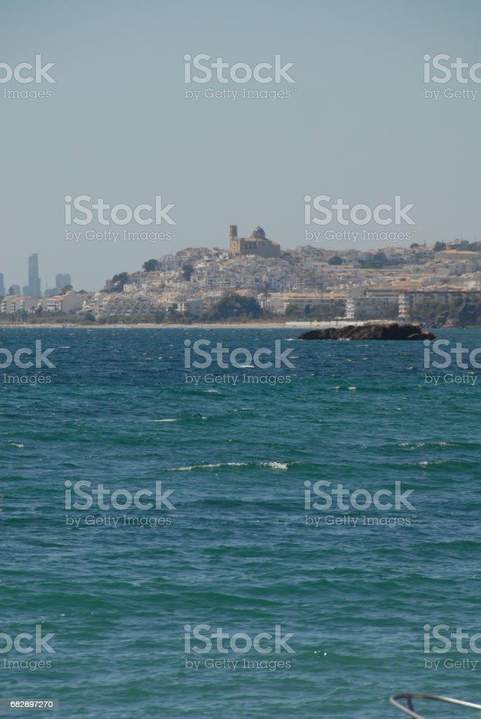Altea - Skyline - Stadtansichten - Hausfassaden - Costa Blanca - Spanien Lizenzfreies stock-foto