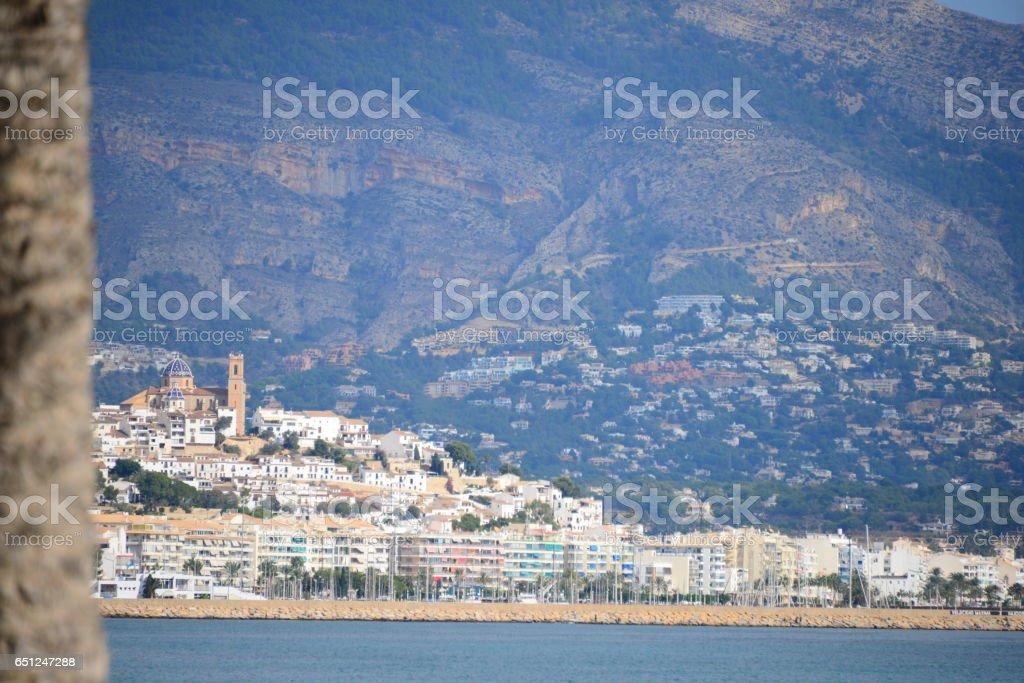 Altea - Stadtansichten - Hausfassaden - Costa Blanca - Spanien - foto de stock