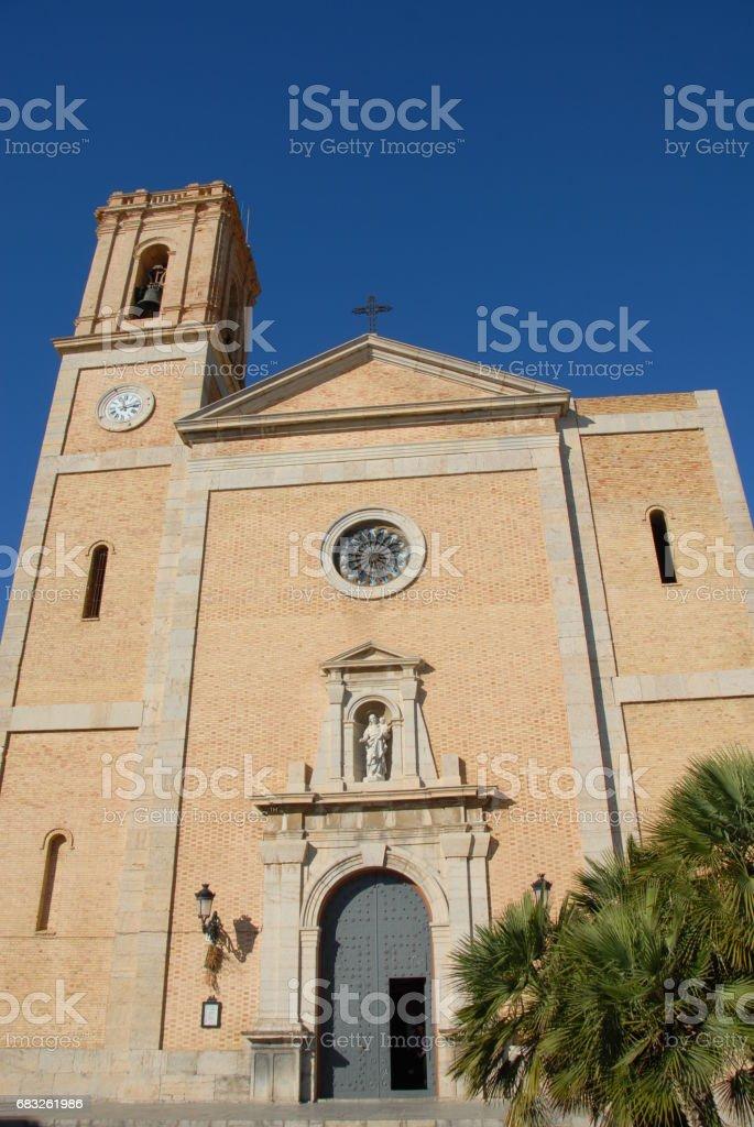 Altea - Stadtansichten - Hausfassaden - Costa Blanca - Spanien foto de stock royalty-free