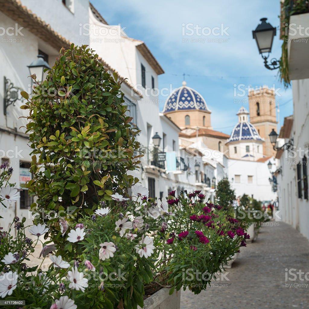 Catedral Altea Village - foto de stock
