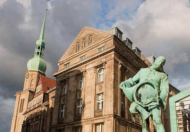 alter markt, reinoldikirche in dortmund - andreas weber stock-fotos und bilder