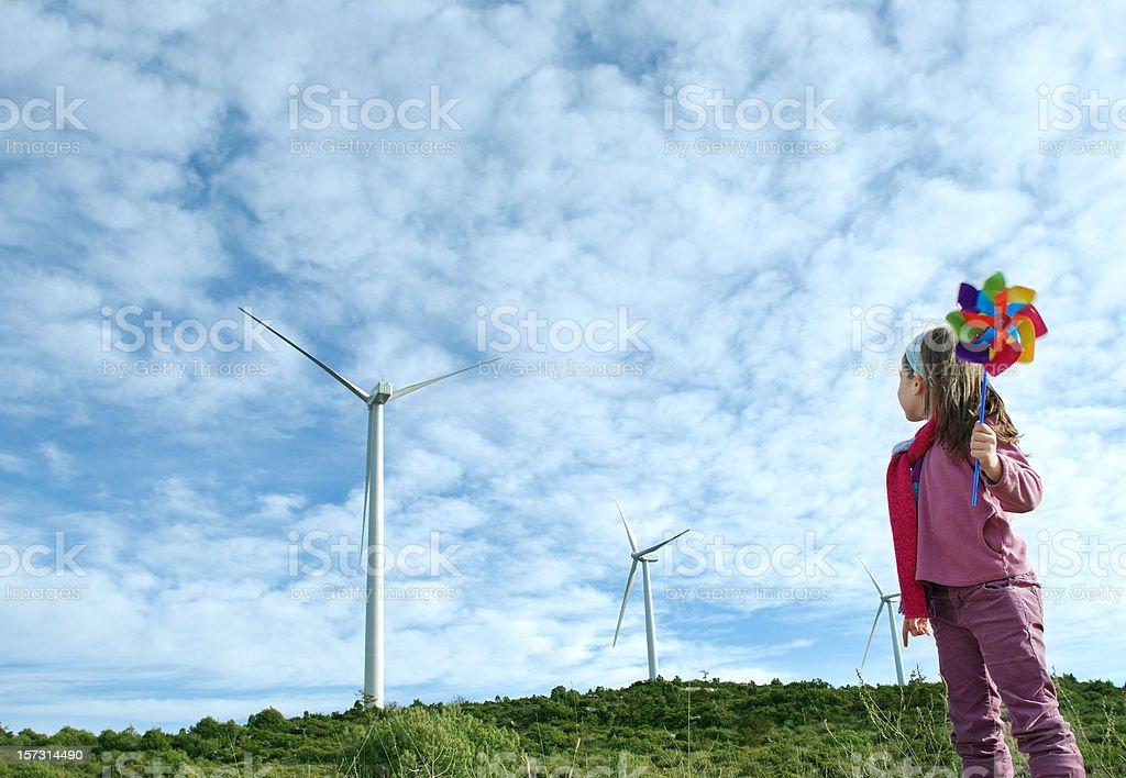 Alternatgive Energy royalty-free stock photo