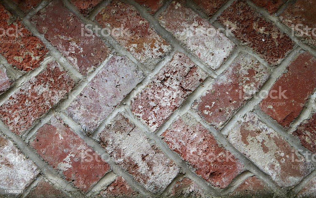 Alternating Bricks stock photo