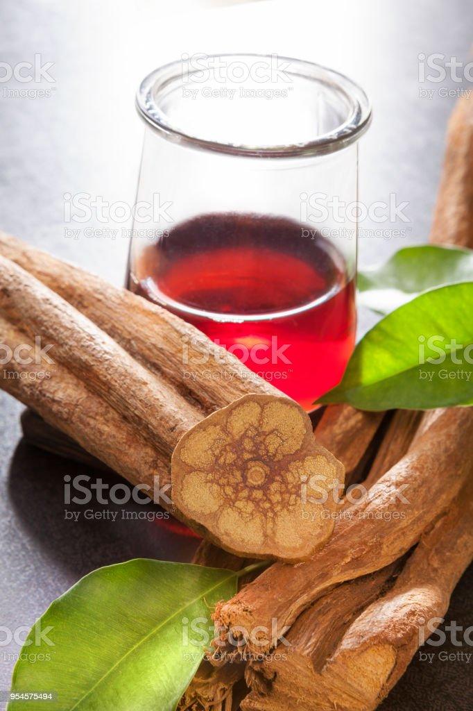 Alternative ayahuasca medicine. stock photo
