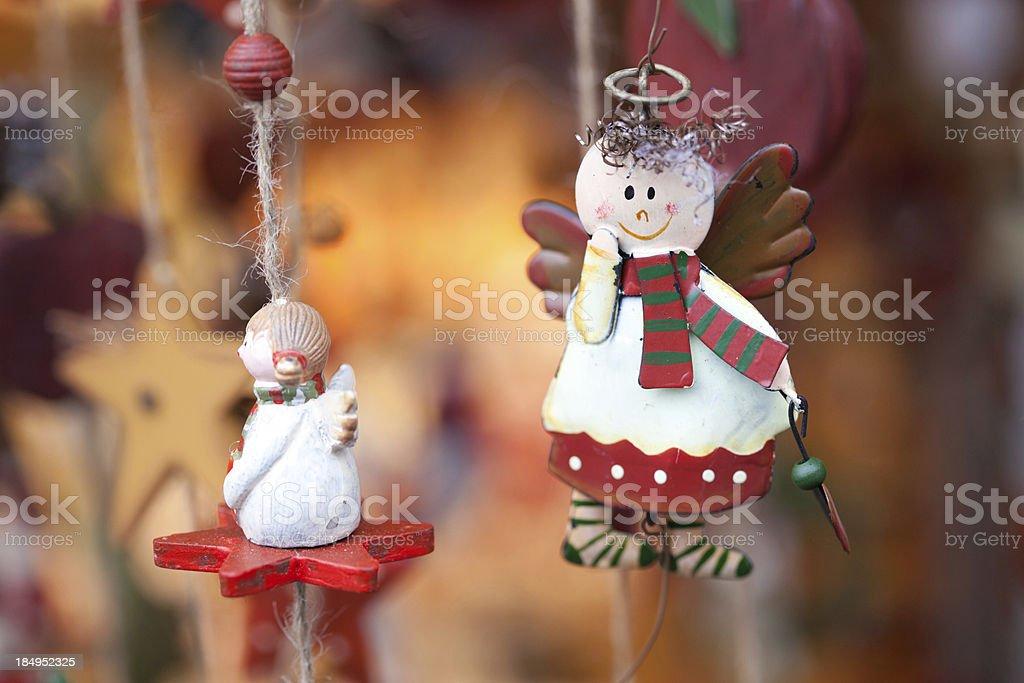 alternative Christmas angel royalty-free stock photo