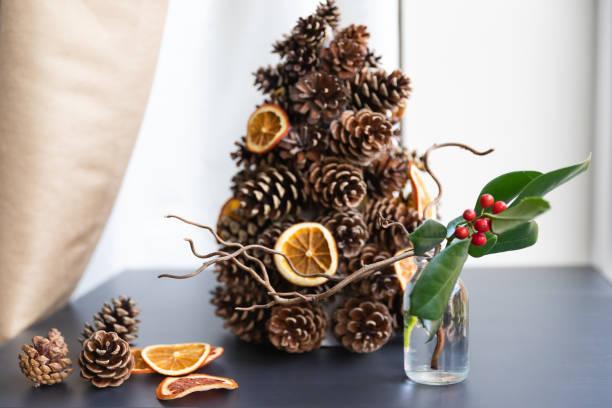 alternative Christmas tree stock photo