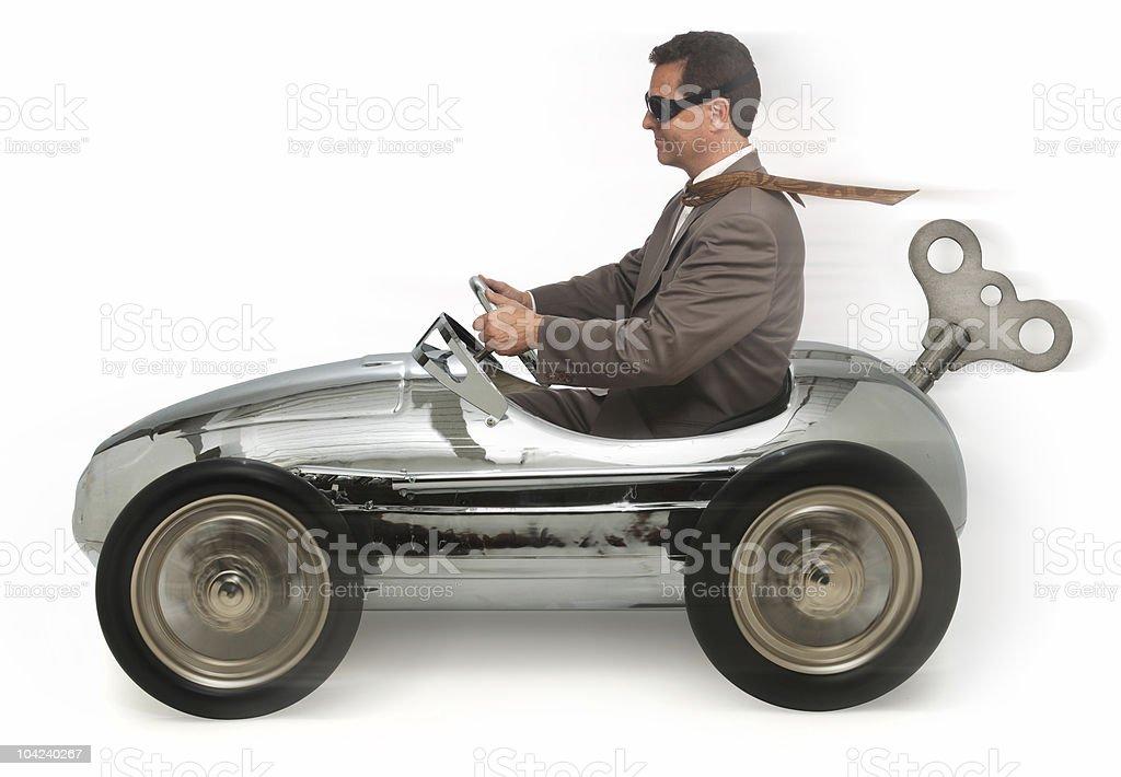 Alternative Energy Vehicle royalty-free stock photo