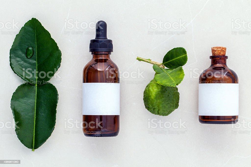 Alternative health care frischen, Limonenblättern und Öle – Foto