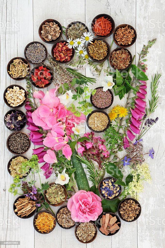 Alternative Herbal Medicine stock photo