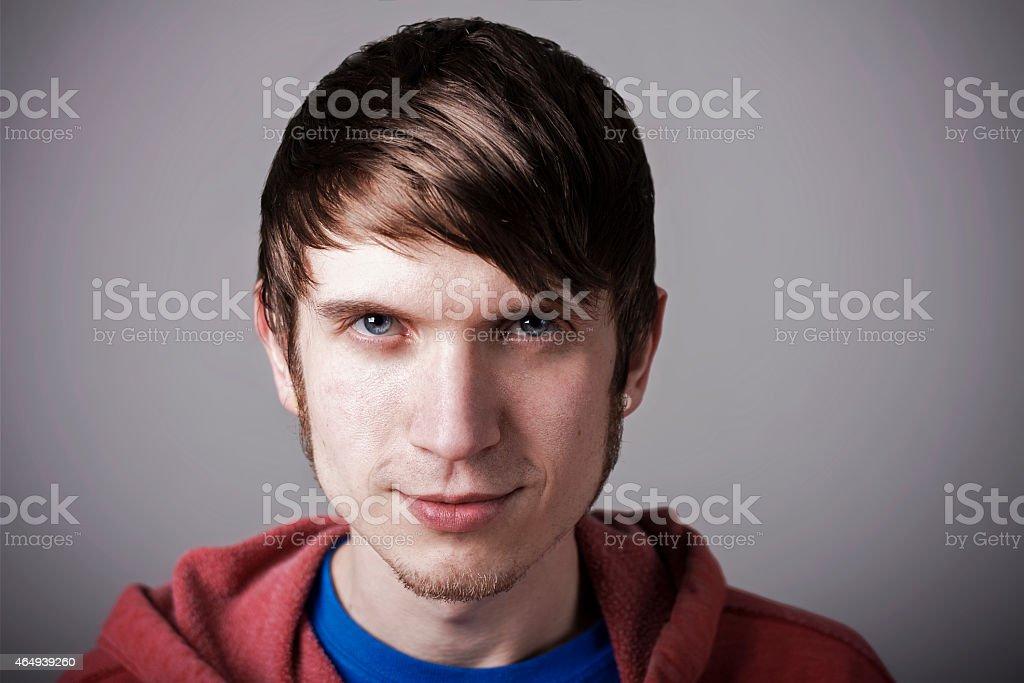 Alternative Male Headshot stock photo