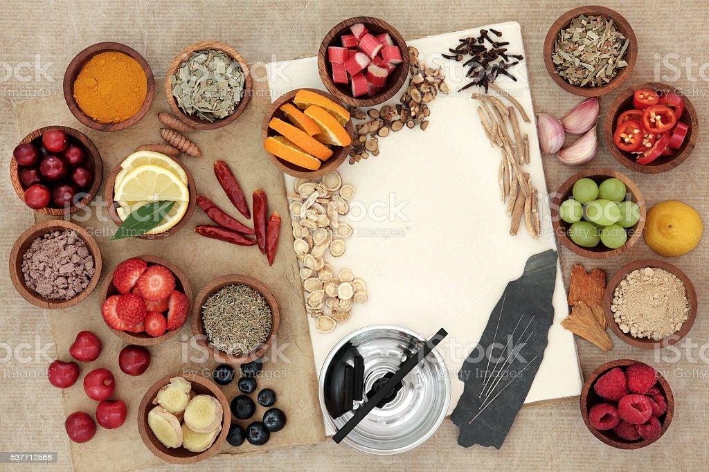 Alternative Medicine for Cold Remedy stock photo