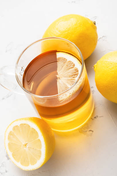 Alternative medicine, natural home remedy for cold and flu. stock photo