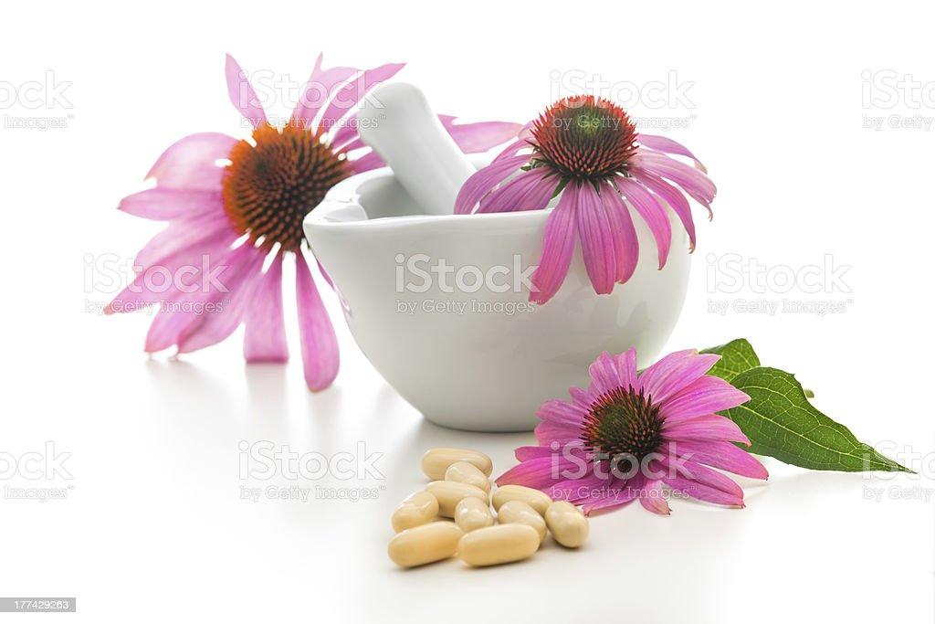Alternative medicine stock photo