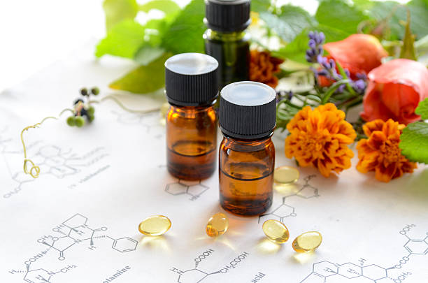 alternative therapy - naturopathy stock photos and pictures