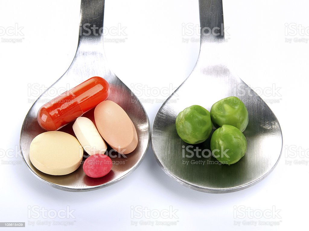 Alternatively, pills or ... - Choose royalty-free stock photo