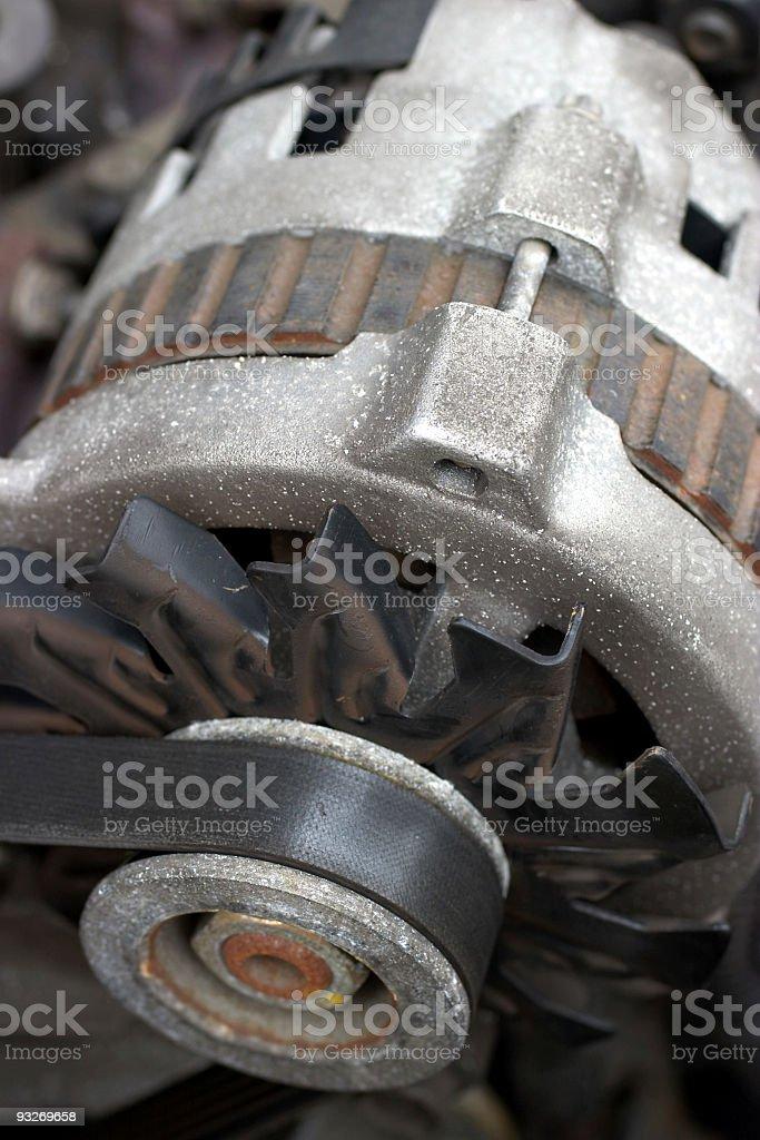 Alternator - Car Repair stock photo