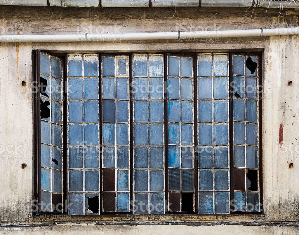 Altes Fenster altes fenster einer industriehalle stock photo more pictures of
