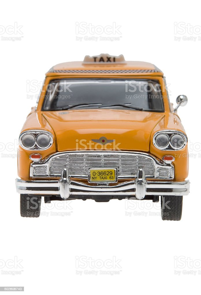 Altes New York Taxi Miniatur – Foto