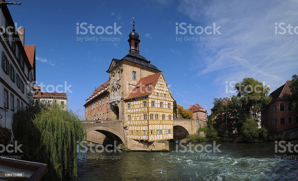 Altes Rathaus, Bamberg royalty-free stock photo